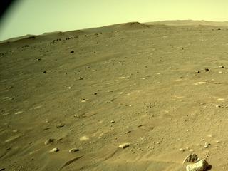 View image taken on Mars, Mars Perseverance Sol 43: Left Navigation Camera (Navcam)