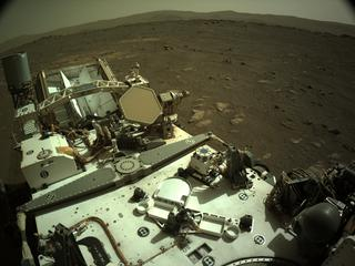View image taken on Mars, Mars Perseverance Sol 43: Right Navigation Camera (Navcam)