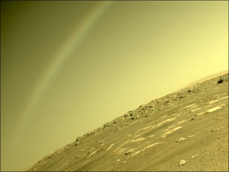 Mars Perseverance Sol 43: Rear Left Hazard Avoidance Camera (Hazcam)