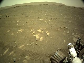 View image taken on Mars, Mars Perseverance Sol 44: Left Navigation Camera (Navcam)
