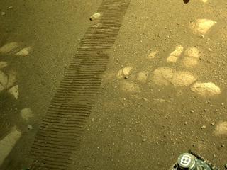 View image taken on Mars, Mars Perseverance Sol 44: Right Navigation Camera (Navcam)