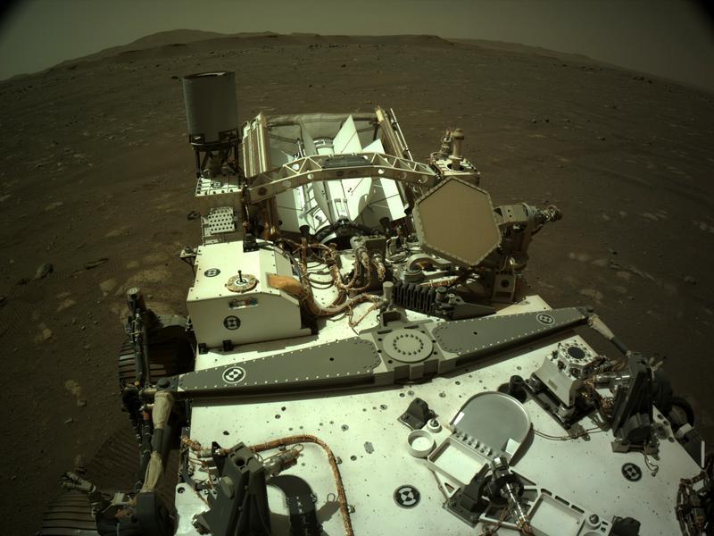 Mars Perseverance Sol 44: Right Navigation Camera (Navcam)