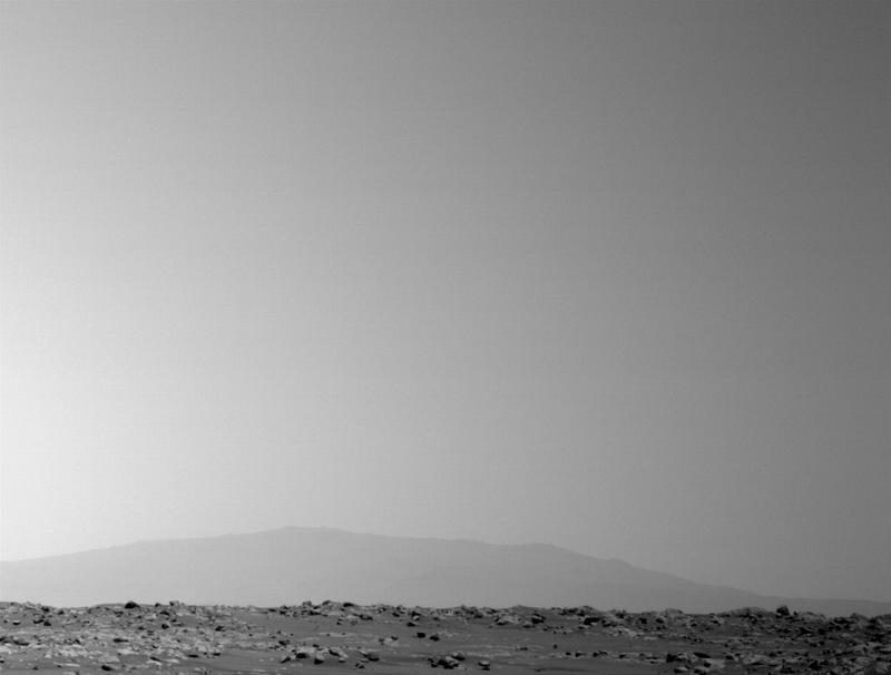 Mars Perseverance Sol 45: Left Navigation Camera (Navcam)
