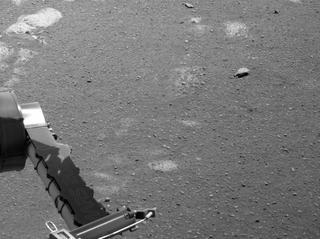 View image taken on Mars, Mars Perseverance Sol 45: Left Navigation Camera (Navcam)