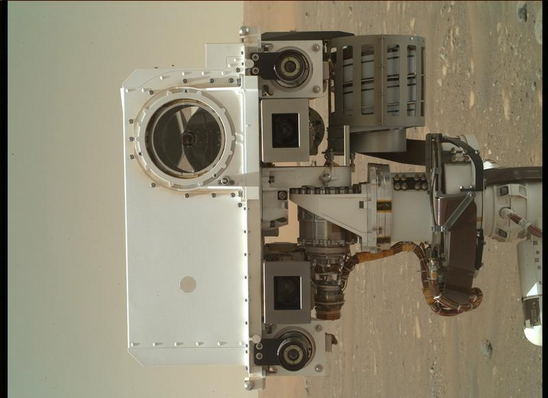 Mars Perseverance Sol 45: WATSON Camera