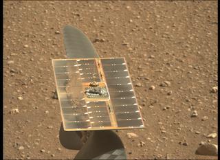 View image taken on Mars, Mars Perseverance Sol 45: Left Mastcam-Z Camera