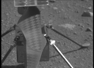 View image taken on Mars, Mars Perseverance Sol 45: Right Mastcam-Z Camera