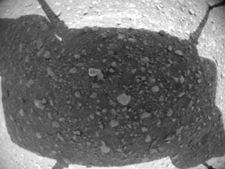 View image taken on Mars, Mars Helicopter Sol 47: Navigation Camera