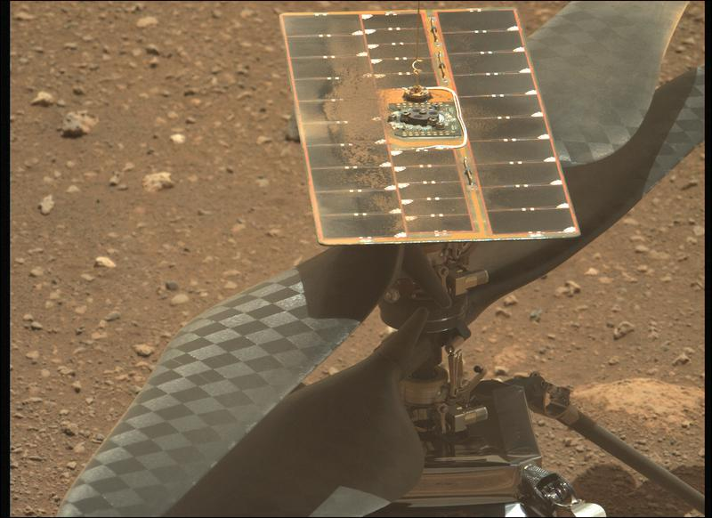 Mars Perseverance Sol 47: Left Mastcam-Z Camera