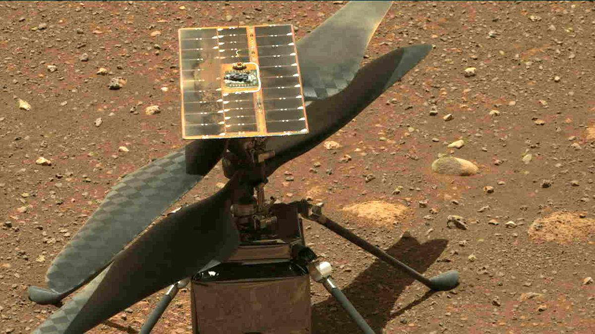 This image was taken by MCZ_RIGHT onboard NASA's Mars rover Perseverance on Sol 47