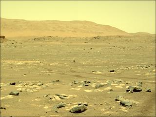 View image taken on Mars, Mars Perseverance Sol 54: Right Navigation Camera (Navcam)
