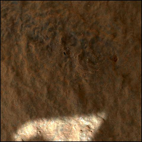This image was taken by SHERLOC_WATSON onboard NASA's Mars rover Perseverance on Sol 54