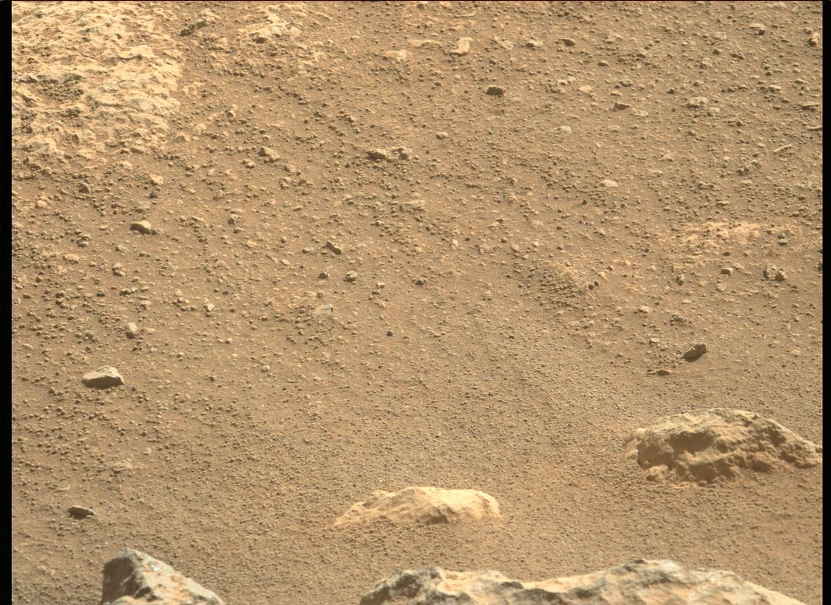 This image was taken by MCZ_LEFT onboard NASA's Mars rover Perseverance on Sol 54