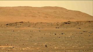 View image taken on Mars, Mars Perseverance Sol 55: Right Mastcam-Z Camera