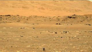 View image taken on Mars, Mars Perseverance Sol 61: Left Mastcam-Z Camera