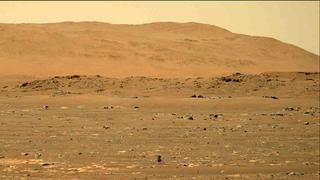 View image taken on Mars, Mars Perseverance Sol 61: Right Mastcam-Z Camera