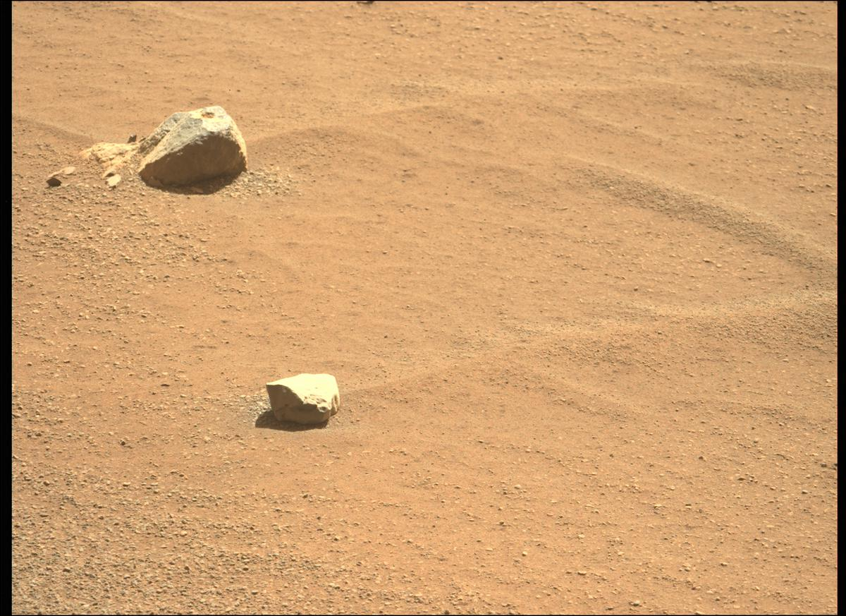 This image was taken by MCZ_LEFT onboard NASA's Mars rover Perseverance on Sol 72