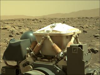View image taken on Mars, Mars Perseverance Sol 74: Left Navigation Camera (Navcam)