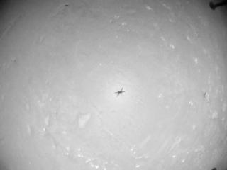 View image taken on Mars, Mars Helicopter Sol 76: Navigation Camera