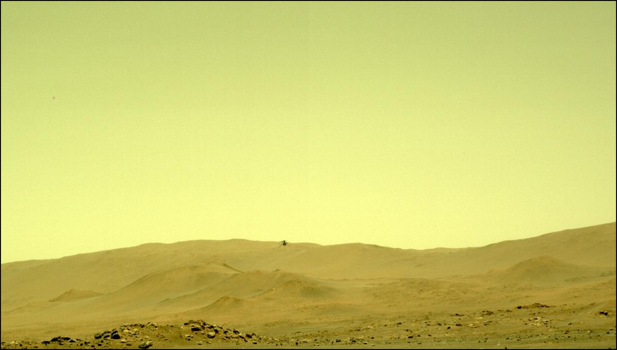 This image was taken by NAVCAM_LEFT onboard NASA's Mars rover Perseverance on Sol 76