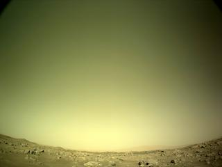 View image taken on Mars, Mars Perseverance Sol 77: Left Navigation Camera (Navcam)