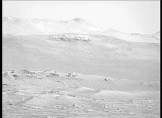 View image taken on Mars, Mars Perseverance Sol 77: Right Mastcam-Z Camera