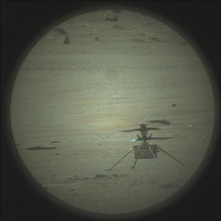 View image taken on Mars, Mars Perseverance Sol 82: SuperCam Camera