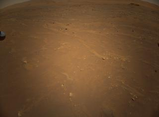 View image taken on Mars, Mars Helicopter Sol 91: Color Camera