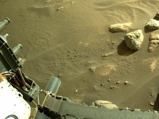 View image taken on Mars, Mars Perseverance Sol 91: Left Navigation Camera (Navcam)