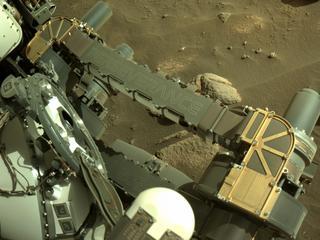 View image taken on Mars, Mars Perseverance Sol 91: Right Navigation Camera (Navcam)
