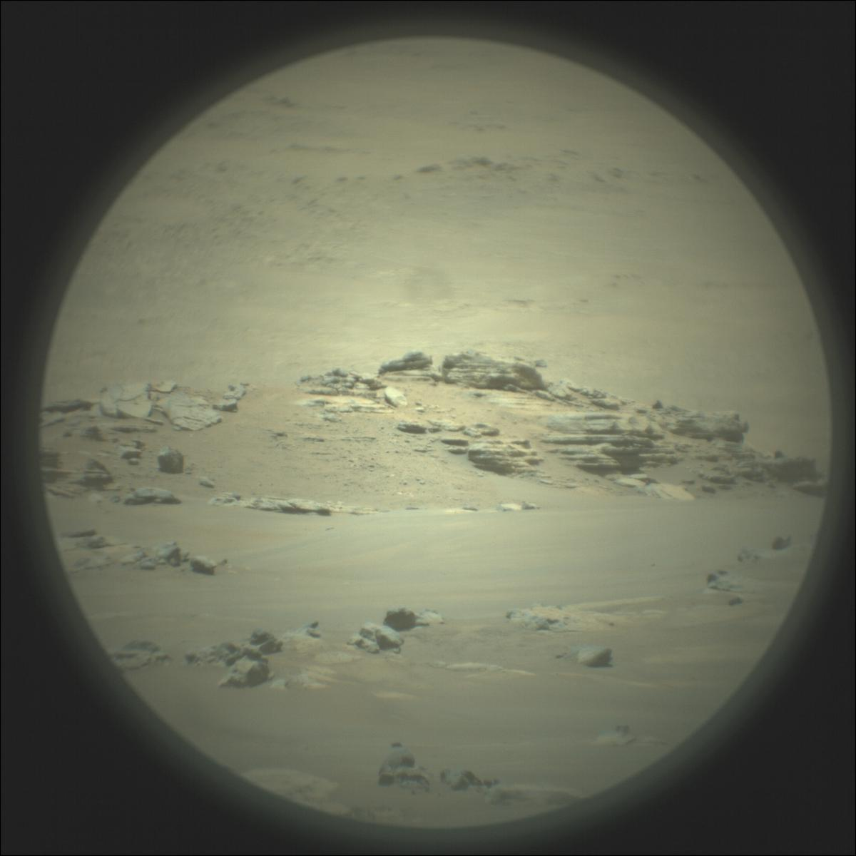 This image was taken by SUPERCAM_RMI onboard NASA's Mars rover Perseverance on Sol 96