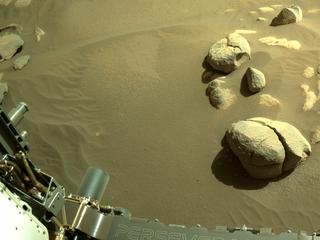 View image taken on Mars, Mars Perseverance Sol 99: Left Navigation Camera (Navcam)