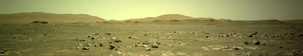 This image was taken by NAVCAM_LEFT onboard NASA's Mars rover Perseverance on Sol 101