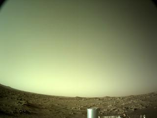 View image taken on Mars, Mars Perseverance Sol 101: Left Navigation Camera (Navcam)