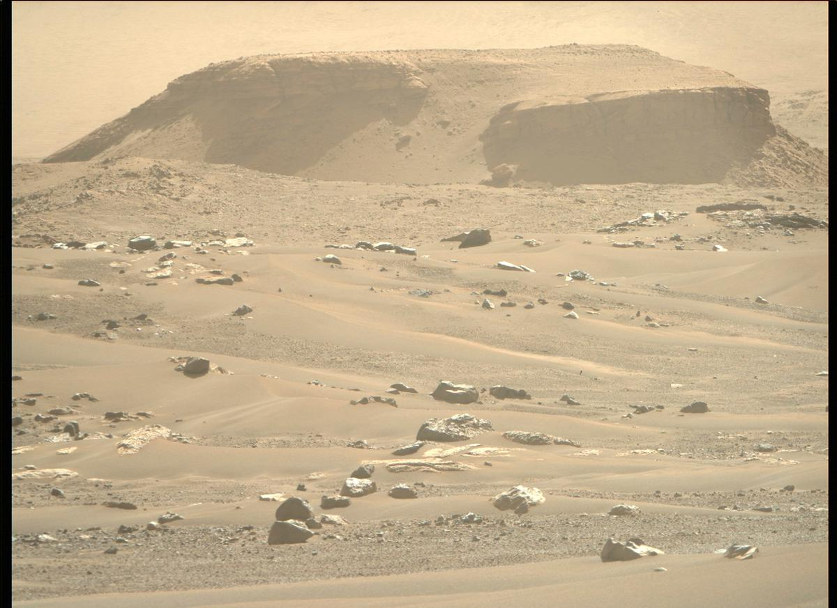 This image was taken by MCZ_RIGHT onboard NASA's Mars rover Perseverance on Sol 105