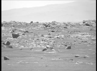 View image taken on Mars, Mars Perseverance Sol 107: Left Mastcam-Z Camera