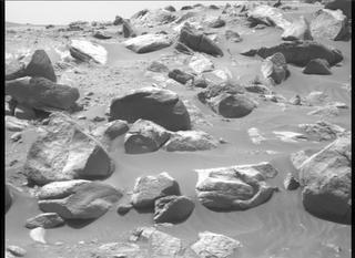 View image taken on Mars, Mars Perseverance Sol 107: Right Mastcam-Z Camera