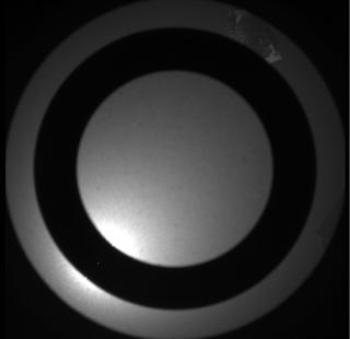 View image taken on Mars, Mars Perseverance Sol 110: SkyCam Camera