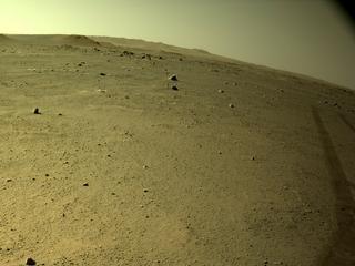 View image taken on Mars, Mars Perseverance Sol 110: Left Navigation Camera (Navcam)
