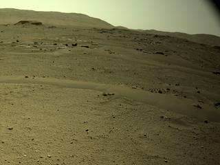 View image taken on Mars, Mars Perseverance Sol 110: Right Navigation Camera (Navcam)