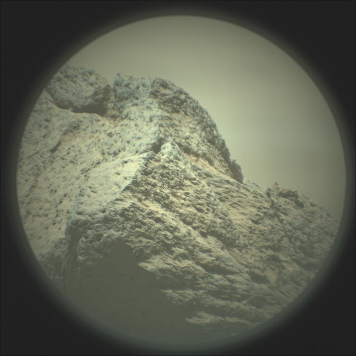 This image was taken by SUPERCAM_RMI onboard NASA's Mars rover Perseverance on Sol 110