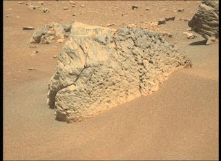 View image taken on Mars, Mars Perseverance Sol 110: Left Mastcam-Z Camera