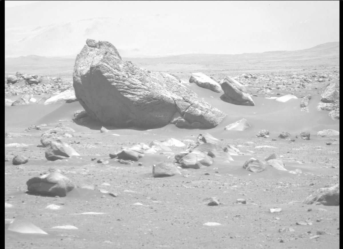 This image was taken by MCZ_RIGHT onboard NASA's Mars rover Perseverance on Sol 110