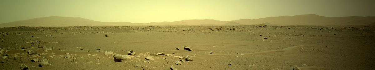 This image was taken by NAVCAM_LEFT onboard NASA's Mars rover Perseverance on Sol 111