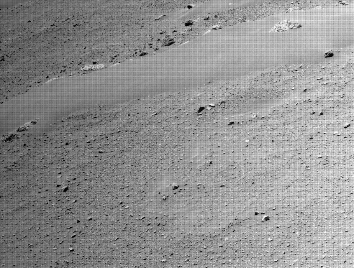 This image was taken by NAVCAM_RIGHT onboard NASA's Mars rover Perseverance on Sol 111