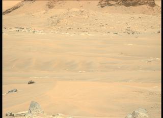 View image taken on Mars, Mars Perseverance Sol 111: Left Mastcam-Z Camera