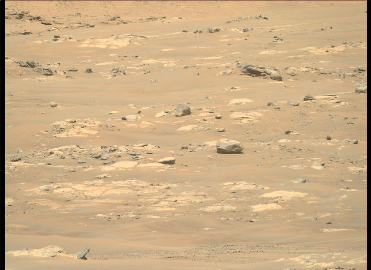 This image was taken by MCZ_RIGHT onboard NASA's Mars rover Perseverance on Sol 111