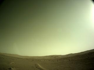 View image taken on Mars, Mars Perseverance Sol 112: Left Navigation Camera (Navcam)
