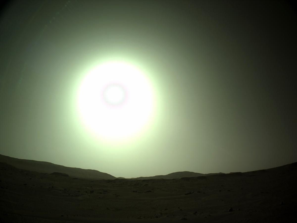 This image was taken by NAVCAM_LEFT onboard NASA's Mars rover Perseverance on Sol 112