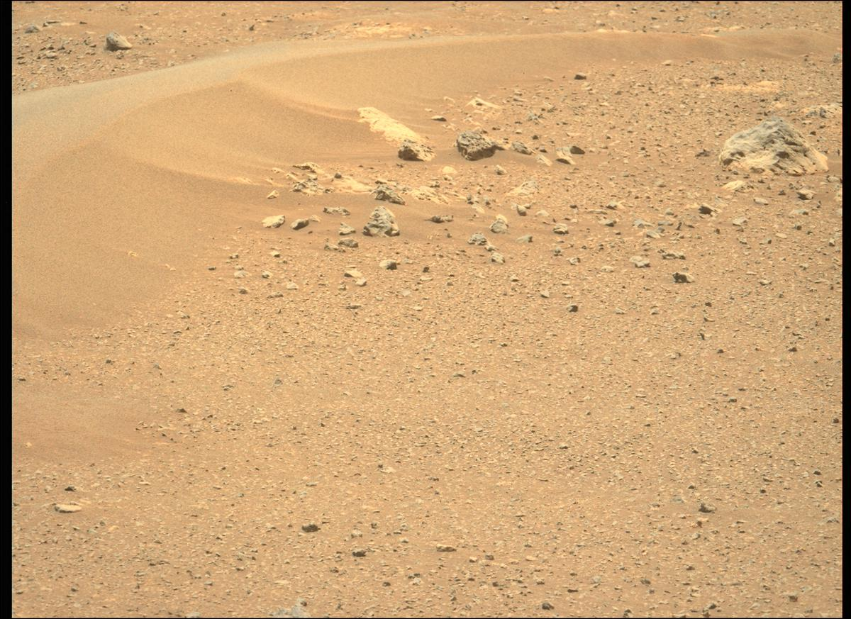 This image was taken by MCZ_LEFT onboard NASA's Mars rover Perseverance on Sol 112